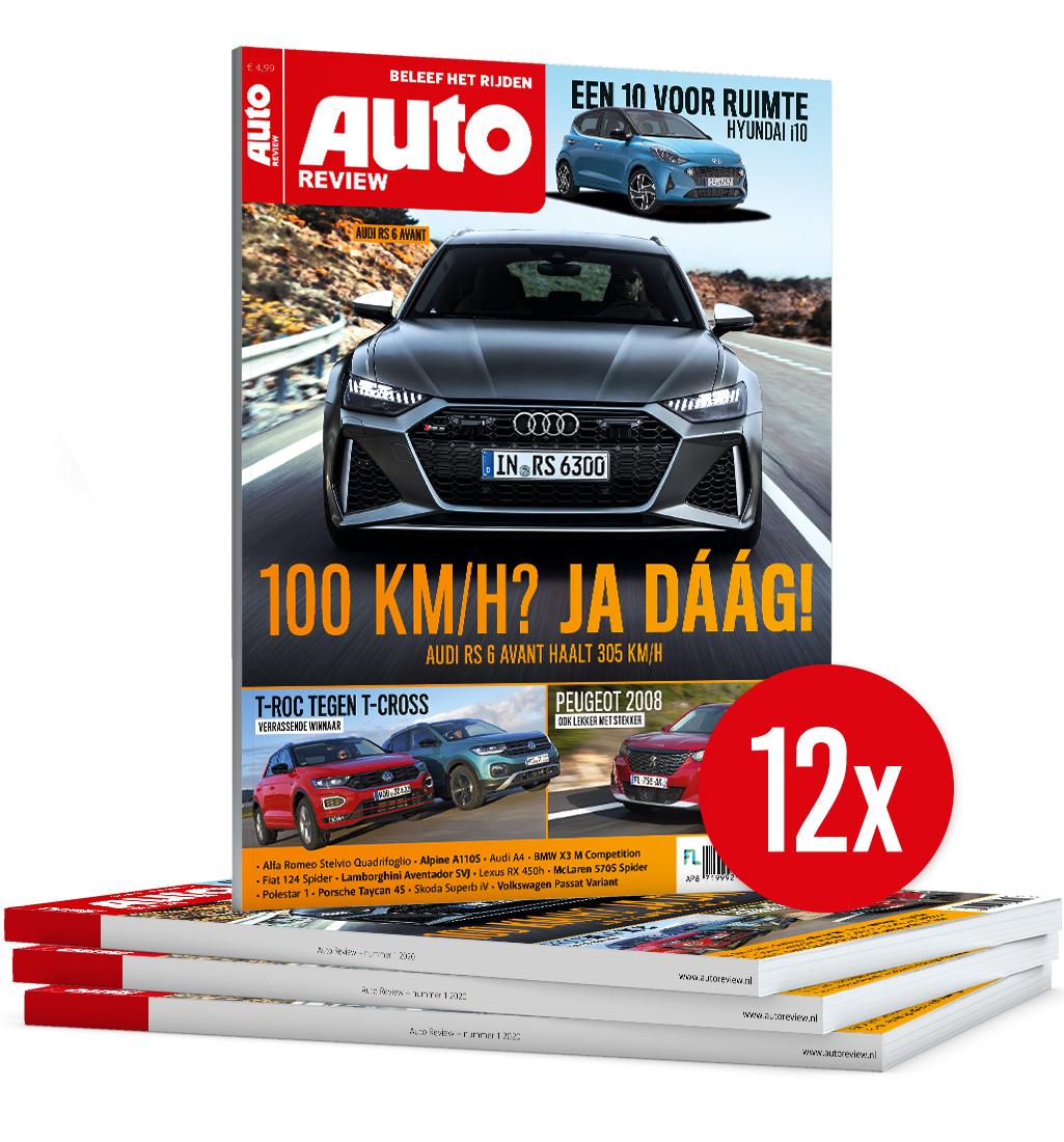 Afbeelding van Auto Review Abonnement