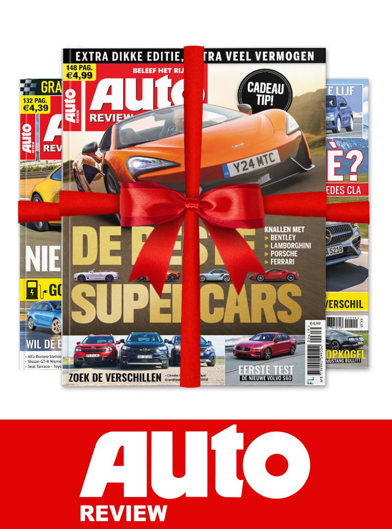Afbeelding van Auto Review Cadeau Abonnement