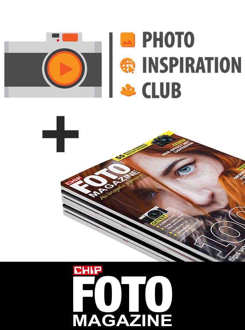 Afbeelding van Chip Foto Magazine Abonnement Met Photo Inspiration Club