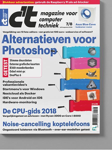 Afbeelding van C't Magazine Jul-aug-2018