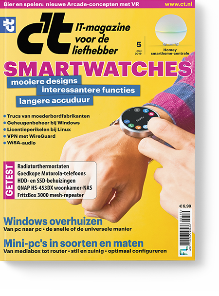 Afbeelding van C't Magazine Mei-2019