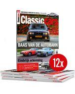 Classic Cars tweejarig abonnement