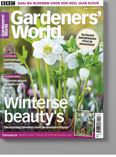Magazine van Gardeners' World jan-feb/2021