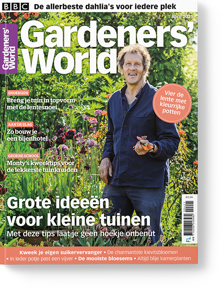 Magazine van Gardeners' World apr/2021