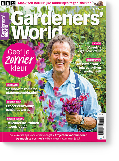 Magazine van Gardener's World juli/2021