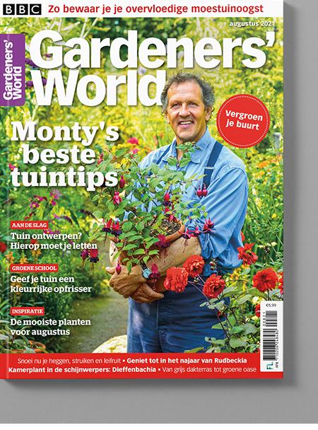 Magazine van Gardeners' World aug/2021