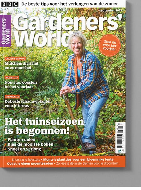 Magazine van Gardeners' World sep/2021