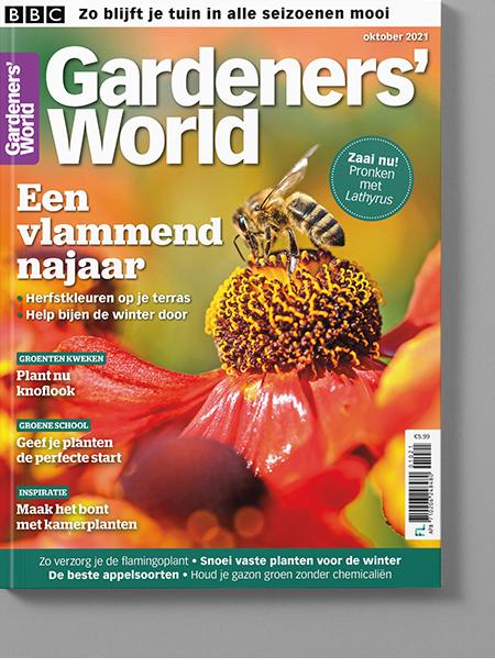 Magazine van Gardeners' World okt/2021