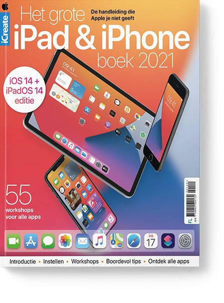 Het grote iPad & iPhone boek 2021