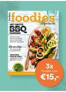 Foodies; 3x voor €15,-