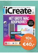 iCreate: 10x voor €40,-