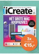 iCreate: 3x voor €15,-