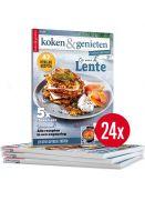 koken & genieten tweejarig abonnement