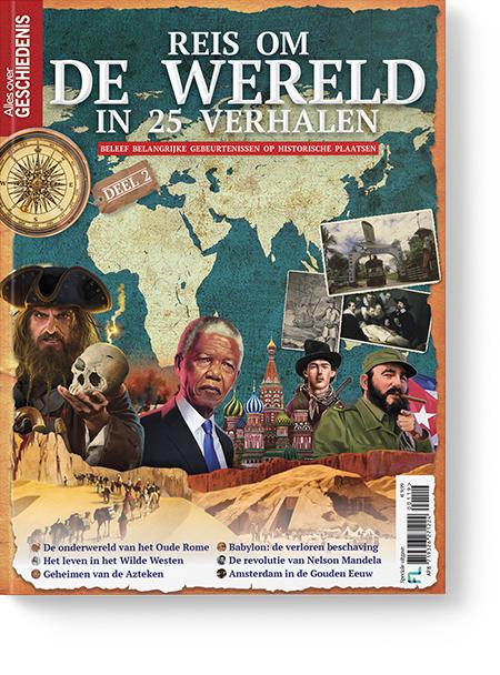 Afbeelding van Reis Om De Wereld In 25 Verhalen Deel 2