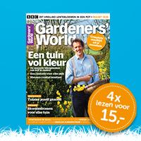 Gardeners' World voorjaarsactie