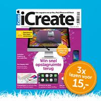 iCreate voorjaarsactie